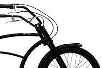 Rower Basman Regular 7 biegowy - Matt Black 26 B3101 - Project 346 strech cruiser Made in Holland - kliknij aby zobaczeæ szczegó³y