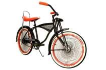 Rower KIDDO Black 20 - Project 346 dzieciêcy lowrider, cruiser Made in Holland - kliknij aby zobaczyæ szczegó³y