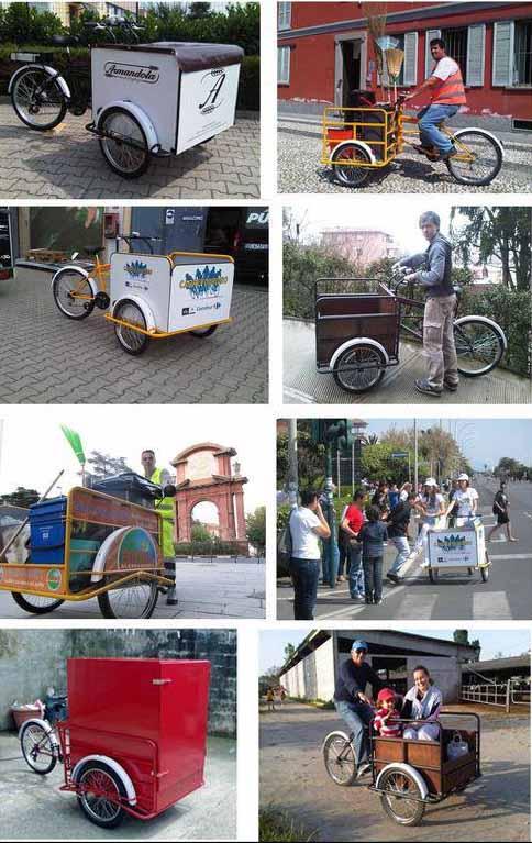 Rower transportowy cargo bike italia titan 300 paka for B b italia carugo