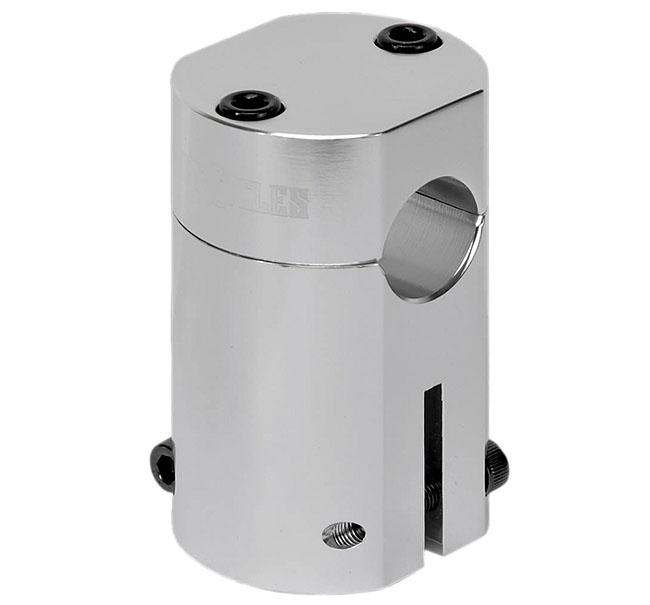 Przednia Lampka Rowerowa Retro 70mm Ze Wspornikiem Chrom Na Baterie Superjasna Led 20 Lux Rs Powered By Bst