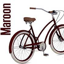 project 346 cruiser ladies maroon rower damski dla wysokich