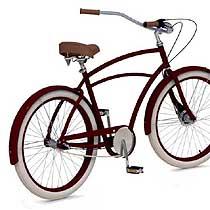 project 346 cruiser men maroon rower dla wysokich