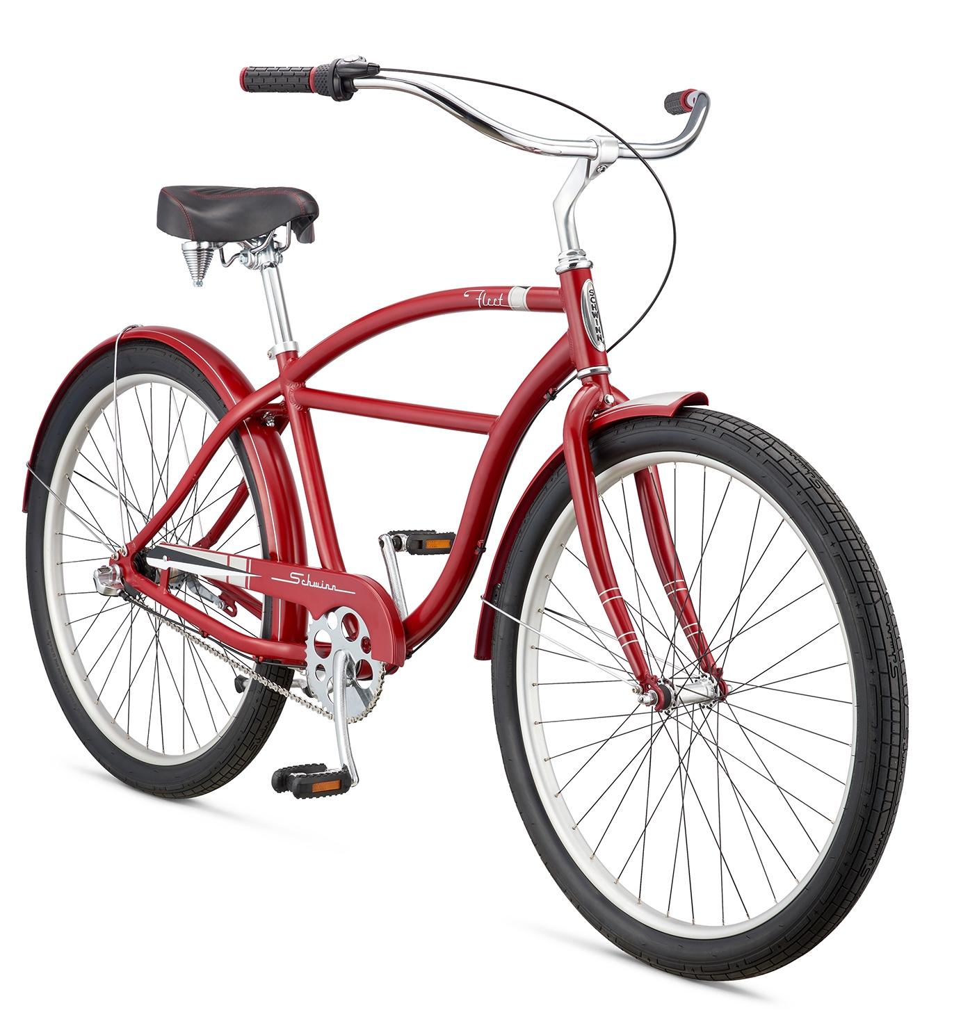 2016 SCHWINN FLEET - ko³a 27,5 cala RED - czerwony - Shimano NEXUS 3-biegi - rower miejski CRUISER - - > kliknij zdjêcie aby powiêkszyæ